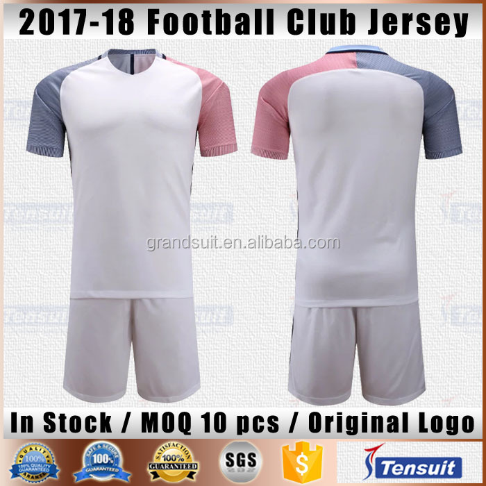 Soccer jersey football shirt national clubs thai quality blank jersey set make custom football jerseys