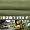 New /raw cow leather/ resined skin raw mink skins 100% genuine fur for cowskin