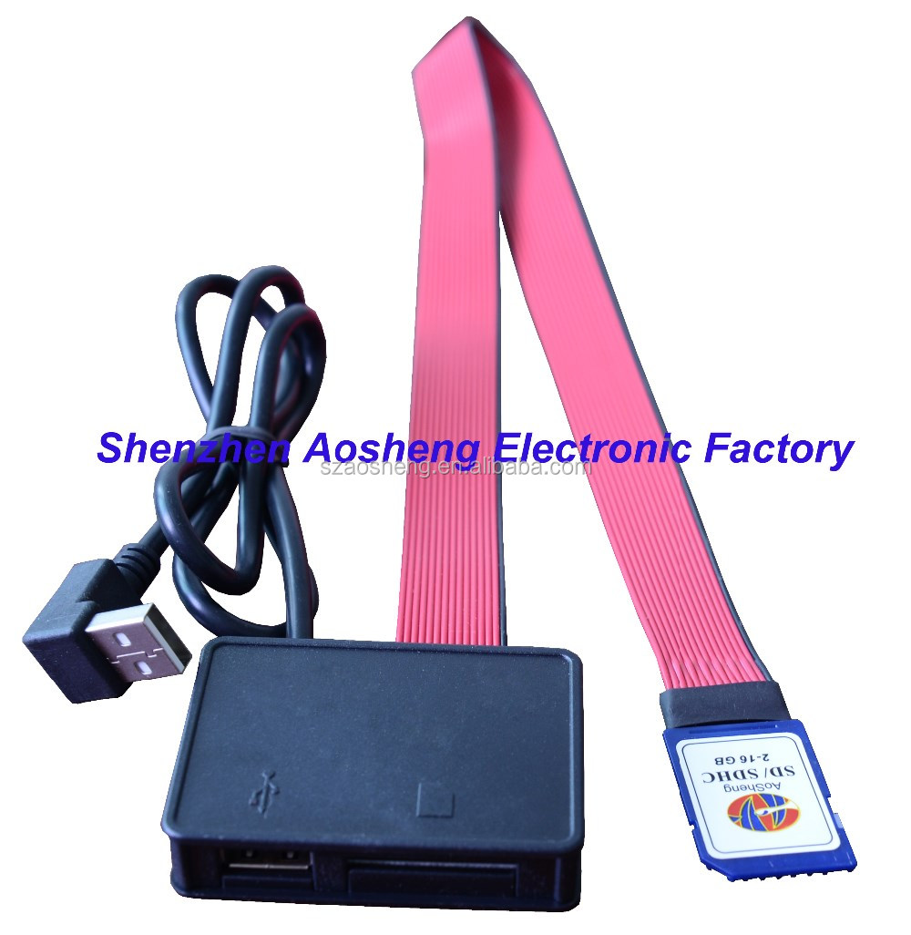 sd card or usb adaptor card sd usb 2 in 1 extension cord
