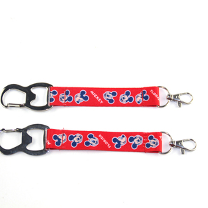 China manufacturer economical custom design high quality lanyard bottle opener