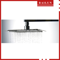 ABS shower head square design top quality rain shower set shower head