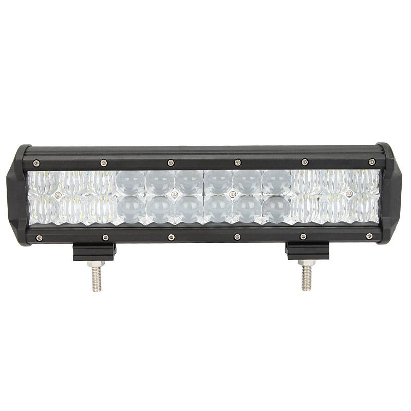 Factory Promotional 12'' 72W 5D 12 volt rigid led light bar for Universal Cars vehicle