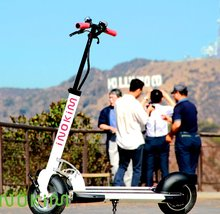 CE approve two wheel 10inch scooter 2 seat electric scooter adult