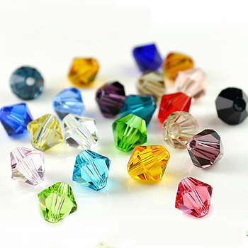 Crystal Beads Glass Bicone Bead 4MM Jewelry Making