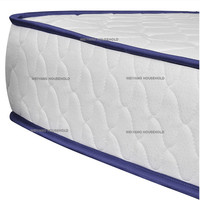 Foshan supplier high quality lavender hotel density foam cover memory mattress