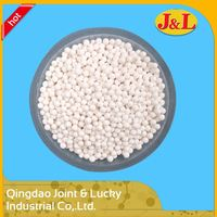 Active Aluminium Oxide Ball Valve Beads White Ball