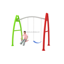 Outdoor Playground and Indoor Amusement A Shaped Double Swing