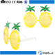 China manufacturer promotion new product cheap fashion pineapple shape kids party glasses