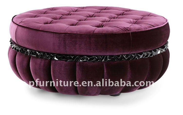 Hotel Round Lounge Sofa Stool Pfc192   Buy Round Sofa,Round Stool,Round  Couch Product On Alibaba.com