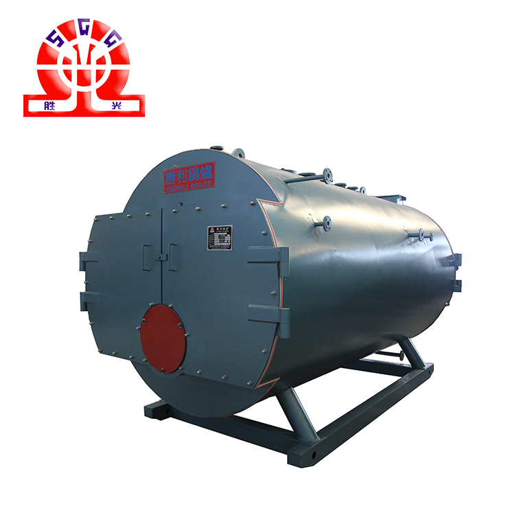 Waste Oil Fired Hot Water Boiler Fire Tube Heater