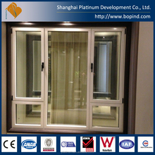 Australian Standard Siegenia Double Glass Sliding Window with CE and AWA