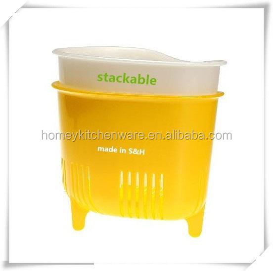 venta caliente cocina colador de plstico cesta de fruta de vegetal