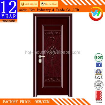 Kerala House Main Door Design Cheap Steel Security Door Entry Door