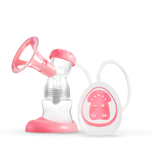 3D soft breast pump mother care and baby products electric single silicone portable breast pumps