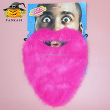 Hot Sale Pink fake mustache beard