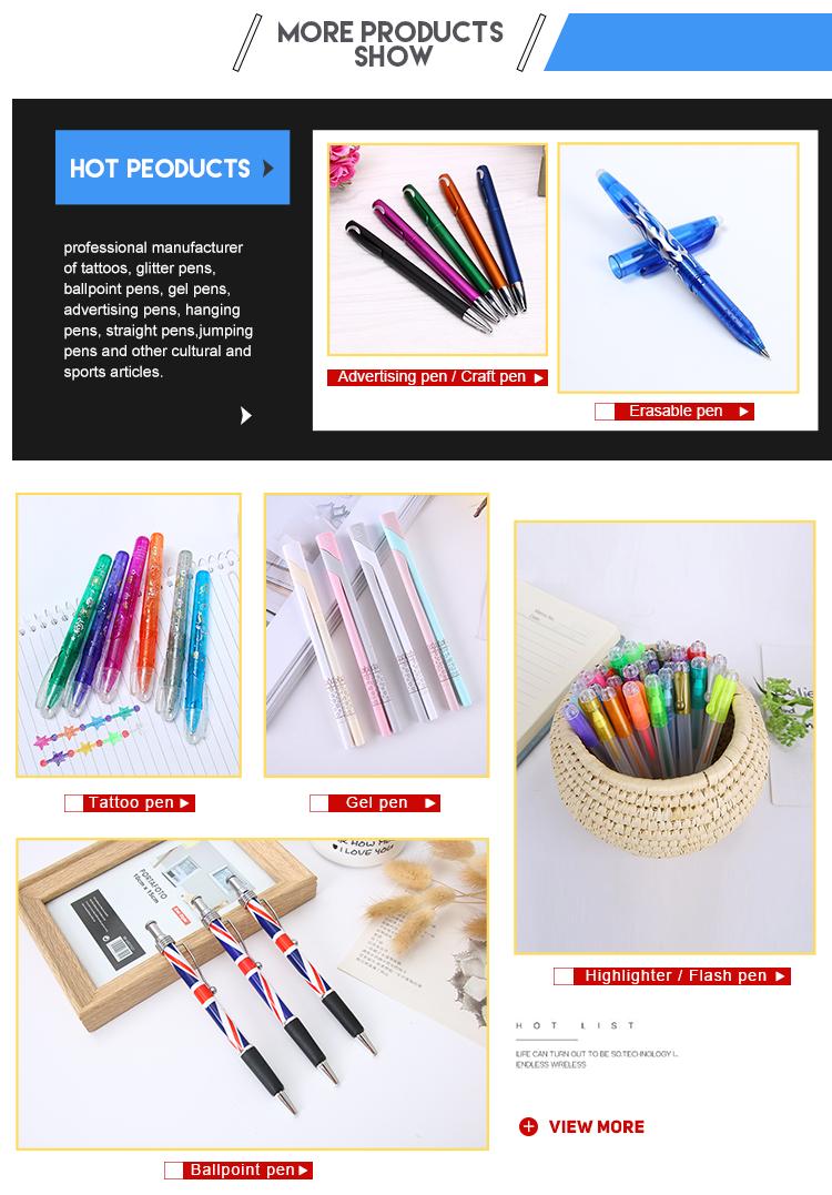 Stampa del Logo personalizzato Più Poco Costoso di Promozione di Plastica penna a sfera retrattile