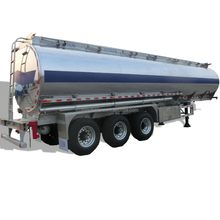 Aluminum 50000 Litres Water Fuel Tanker Semi Trailer In China
