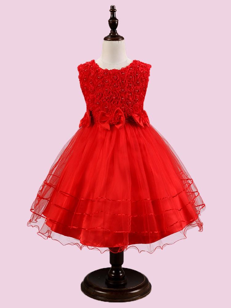 Venta al por mayor venta de vestidos de niña-Compre online los ...