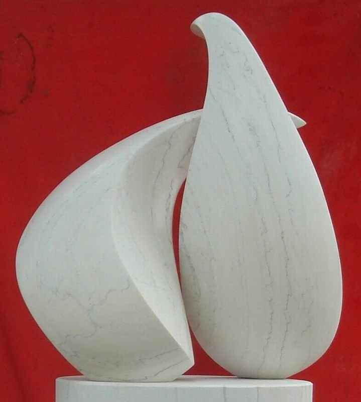 Handcraft Abstract Stone Sculpture for hotel decor