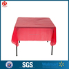 plastic table cover/table cloth for wedding event decoration