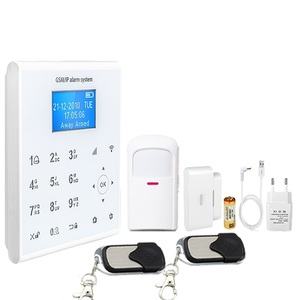 New products smart wireless 868mhz alarm system with 2g gprs app control gsm WIFI home automation emergency alarm
