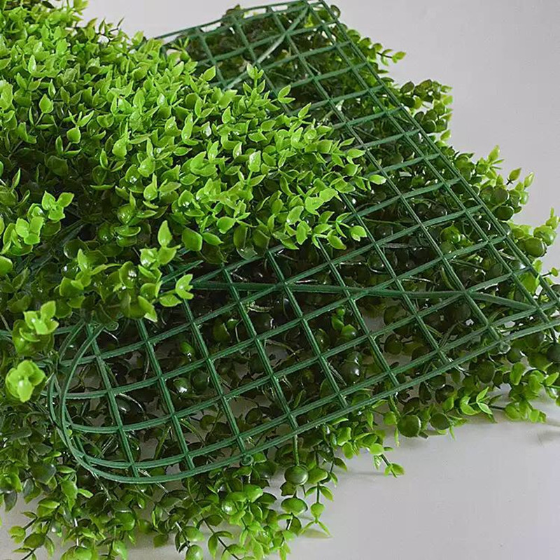 Artificial plant wall with good quality and cheap price for garden and street