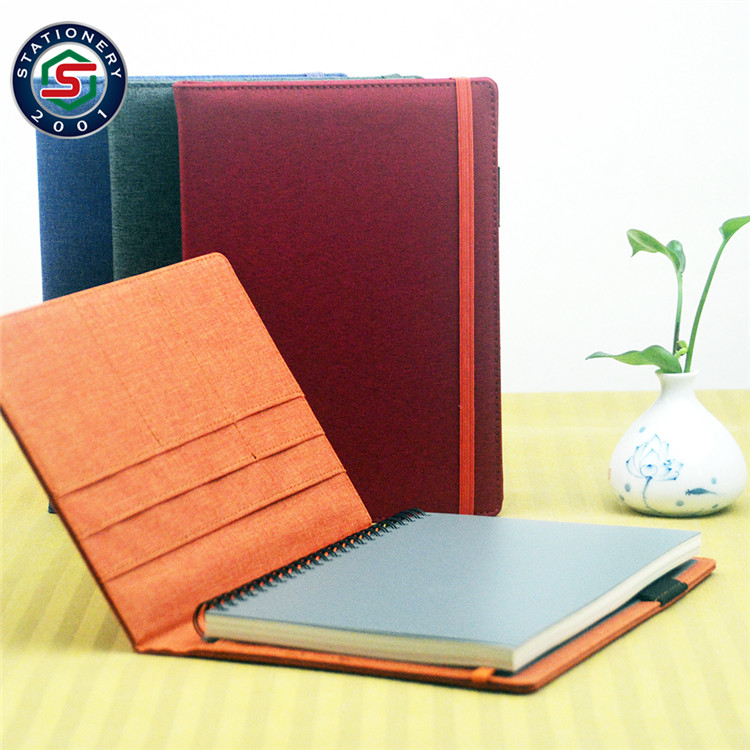 Stationery fabric cloth cover notebook,fabric a5 a6 waterproof notebook