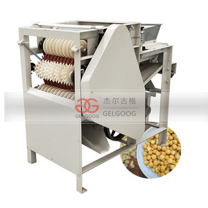 Automatic Soybean Skin Removing Chickpea Almond Wet Peeler Peanut Peeling Machine