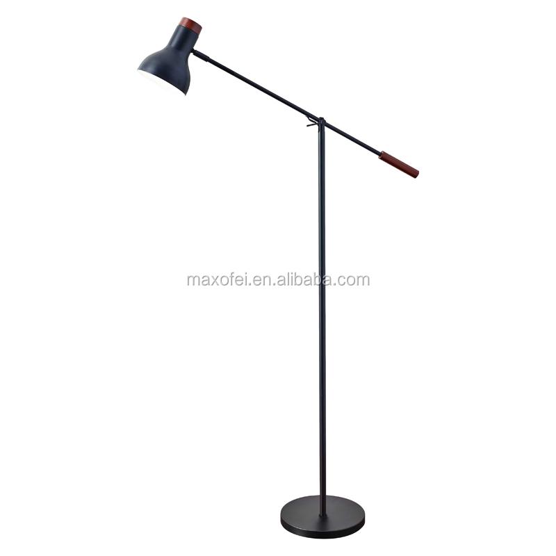 Venta al por mayor country style floor lamps compre online los interior moderno lmpara de pie de hierro para el hogardecoracin del restaurante aloadofball Images