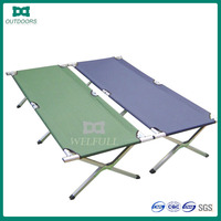 Outdoor furniture army camping bed military folding camping bed