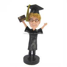Hand Painting Souvenir Custom resin doctor figurines dolls bobble head