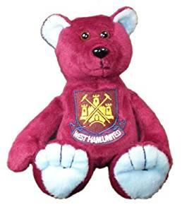 0c4b2f653e1 Get Quotations · West Ham United FC Official Beanie Teddy Bear