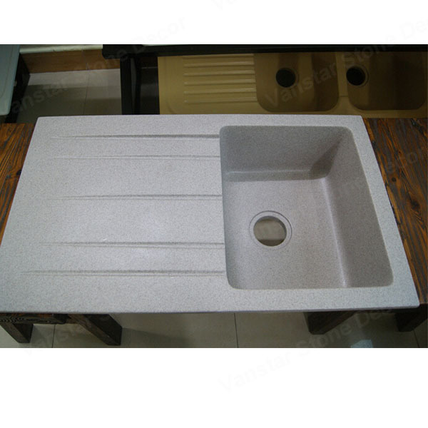 chinese supplier corians solid surface acrylic kitchen sink with drain board buy cheap china solid surface acrylic kitchen sinks products find      rh   m alibaba com