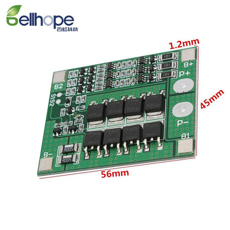 3 S 20 A cellule 12.6 V 18650 Li-Ion Batterie au Lithium Chargeur BMS Protection Carte De Circuit Imprimé Board