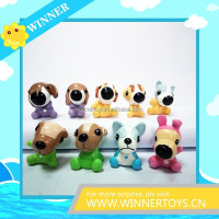 Various lovely dog action figure toy