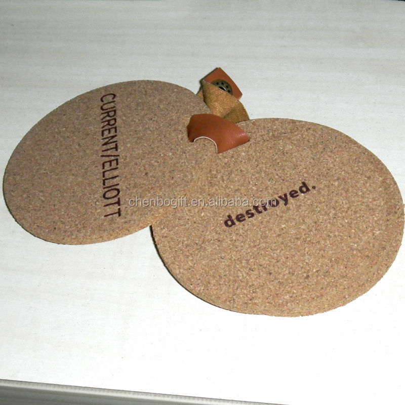 Custom Made Screen Printing Cork Coaster Silk Screen