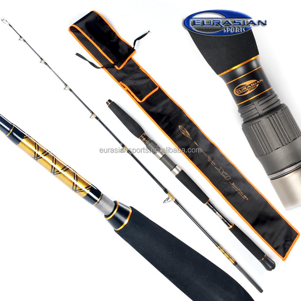 XJ jigging rod 1.80m 20lbs China OEM manufacturer top quality fast tip action deep sea trolling jigging slow carbon fishing rod