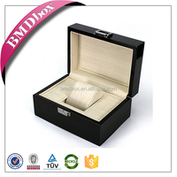 Wholesale high quality luxury single wooden watch display box