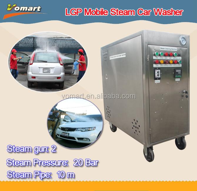20bar 2 Steam Gun Lpg Mobile Steam Car Washing Machine /steam ...
