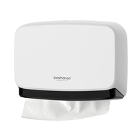 ABS Wall Mounted Paper Towel Dispenser In Paper Holder For Kitchen
