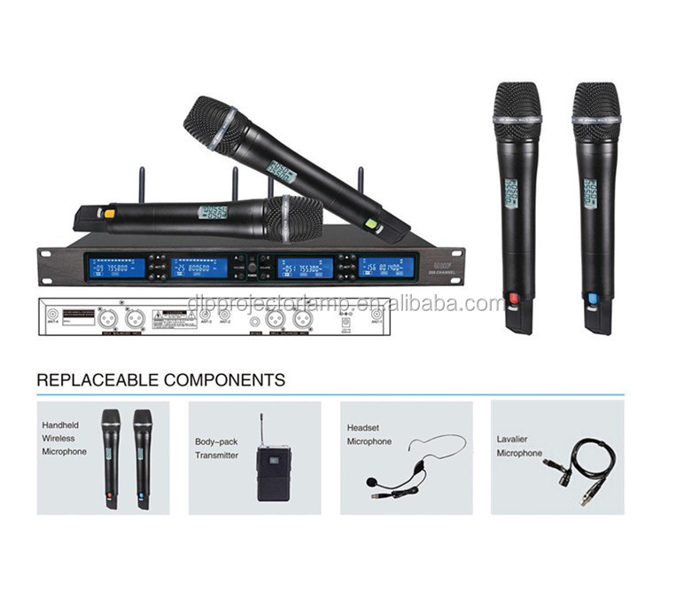 Wireless Microphone UHF meeting microphone Show KTV Handheld Microphone
