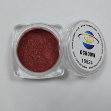 벌의 종 pigment crystal metallic series ----- crystal wine red satin16524