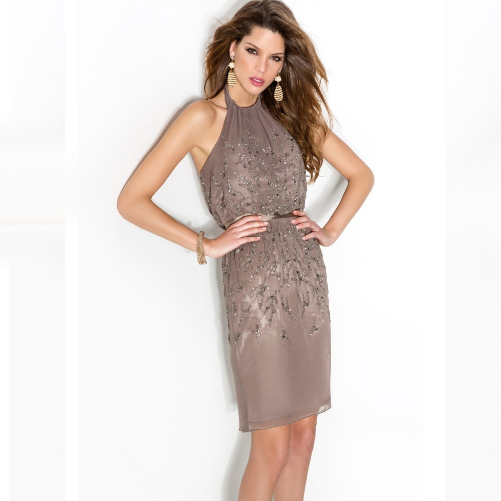 0dad828dc5f Brown Cocktail Dresses – PCK5976. Online Buy Wholesale brown cocktails from  China brown cocktails .