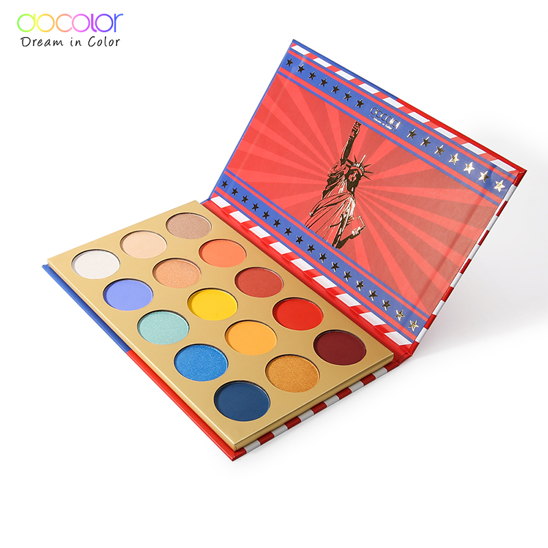 Docolor Y1508 paper palette eye shadow palette <strong>cosmetic</strong>