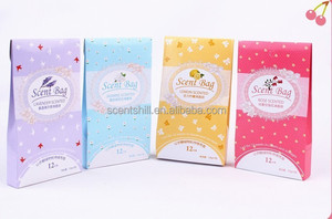 New package many different scents OEM manufactured fragrance sachet