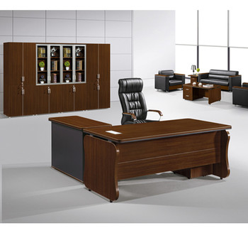 Luxury Modern Office Furniture Wooden Table Design Ceo Executive