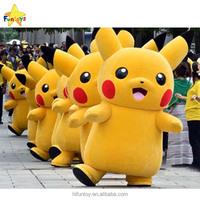 Funtoys inflatable pikachu mascot costume for adult