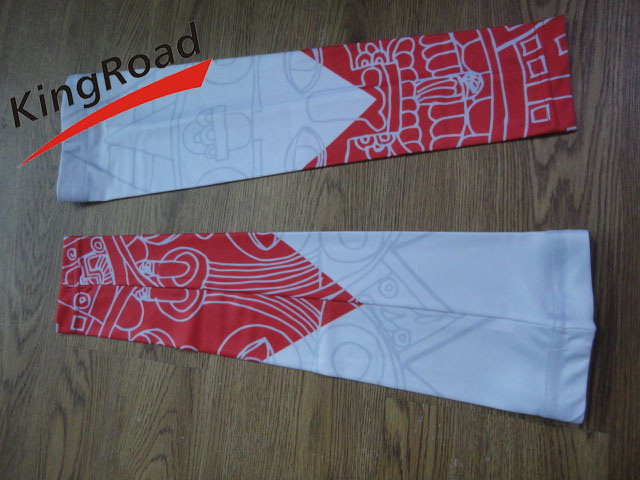 High Quality Lycra Cycling Team Arm Warmer/ Cycle Sleeves