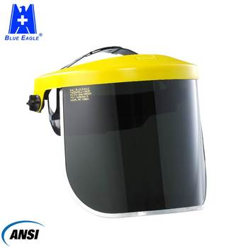 ANSI Face protector uv safety plastic face shield