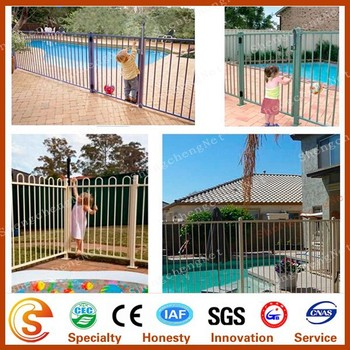Used Temporary Weimming Pool Fencing Pool Safety Fence Retractable